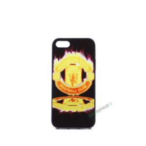 Billig iPhone 5 5S SE Cover Bagcover Gummicover A1453 A1457 A1518 A1528 A1530 A1533 A1428 A1429 A1442 A1723 A1662 A1724 Manchester United FC MCU Fodbold Klub