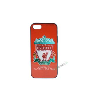 Billig iPhone 5 5S SE Cover Bagcover Gummicover A1453 A1457 A1518 A1528 A1530 A1533 A1428 A1429 A1442 A1723 A1662 A1724 FC Liverpool YNWA You never walk alone Fodbold Klub