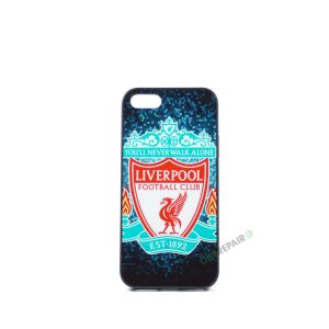 Billig iPhone 5 5S SE Cover Bagcover Gummicover A1453 A1457 A1518 A1528 A1530 A1533 A1428 A1429 A1442 A1723 A1662 A1724 FC Liverpool YNWA You never walk alone Fodbold Klub