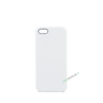 Billig iPhone 5 5S SE Silikone Applecover Apple Cover Bagcover Gummicover A1453 A1457 A1518 A1528 A1530 A1533 A1428 A1429 A1442 A1723 A1662 A1724 Beige Hvid