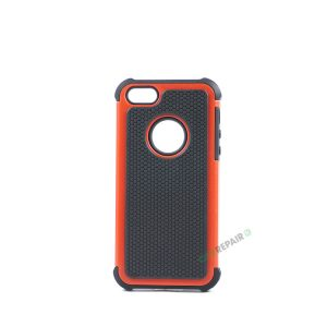 Billig iPhone 5 5S SE Bagcover Haandvaerker cover Hardcase Boernecover Apple Cover A1453 A1457 A1518 A1528 A1530 A1533 A1428 A1429 A1442 A1723 A1662 A1724 Roed