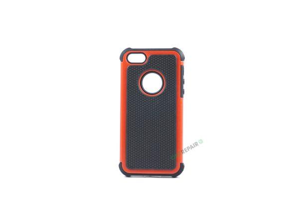 Billig iPhone 5 5S SE Bagcover Haandvaerker cover Hardcase Boernecover Apple Cover A1453 A1457 A1518 A1528 A1530 A1533 A1428 A1429 A1442 A1723 A1662 A1724 Roed