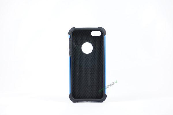 Billig iPhone 5 5S SE Bagcover Haandvaerker cover Hardcase Boernecover Apple Cover A1453 A1457 A1518 A1528 A1530 A1533 A1428 A1429 A1442 A1723 A1662 A1724 Blaa