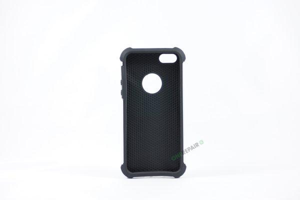 Billig iPhone 5 5S SE Bagcover Haandvaerker cover Hardcase Boernecover Apple Cover A1453 A1457 A1518 A1528 A1530 A1533 A1428 A1429 A1442 A1723 A1662 A1724 Hvid