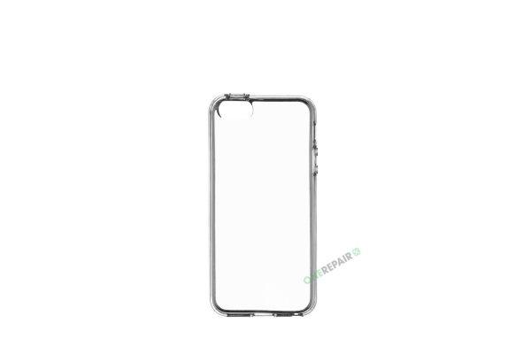 iPhone 5 / 5S / SE , Cover, Gennemsigtigt, Tranparant, Mobil, Billig, Godt
