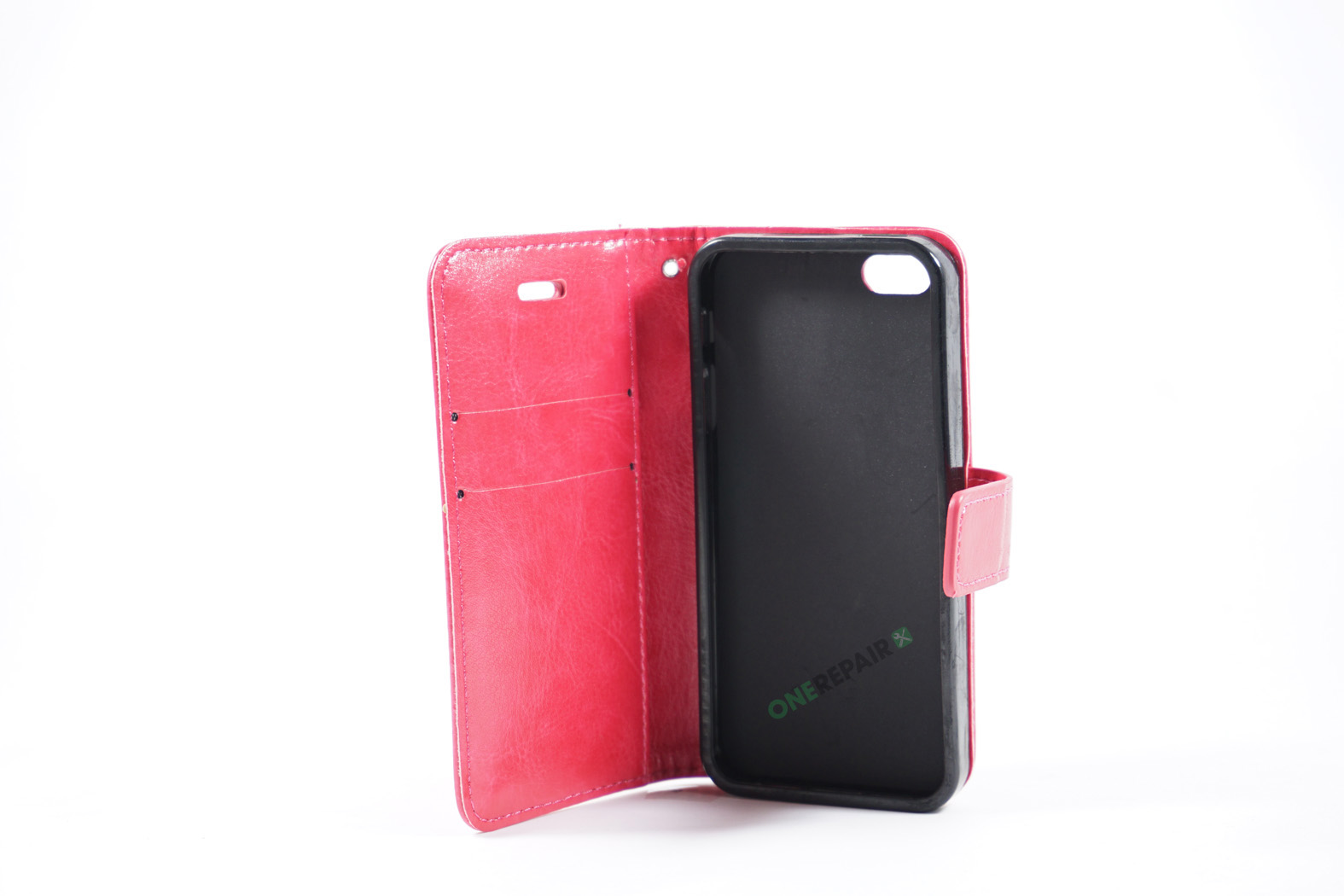 350508_iPhone_5_5S_SE_Flipcover_Cover_Lyseroed_Pink_Pung_OneRepair_WM_00002