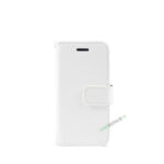 Billig iPhone 5 5S SE Cover Flipcover Pung Plads til kort A1453 A1457 A1518 A1528 A1530 A1533 A1428 A1429 A1442 A1723 A1662 A1724 Hvid