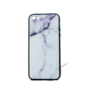 iPhone 5 / 5S / SE Hvid Marmor cover