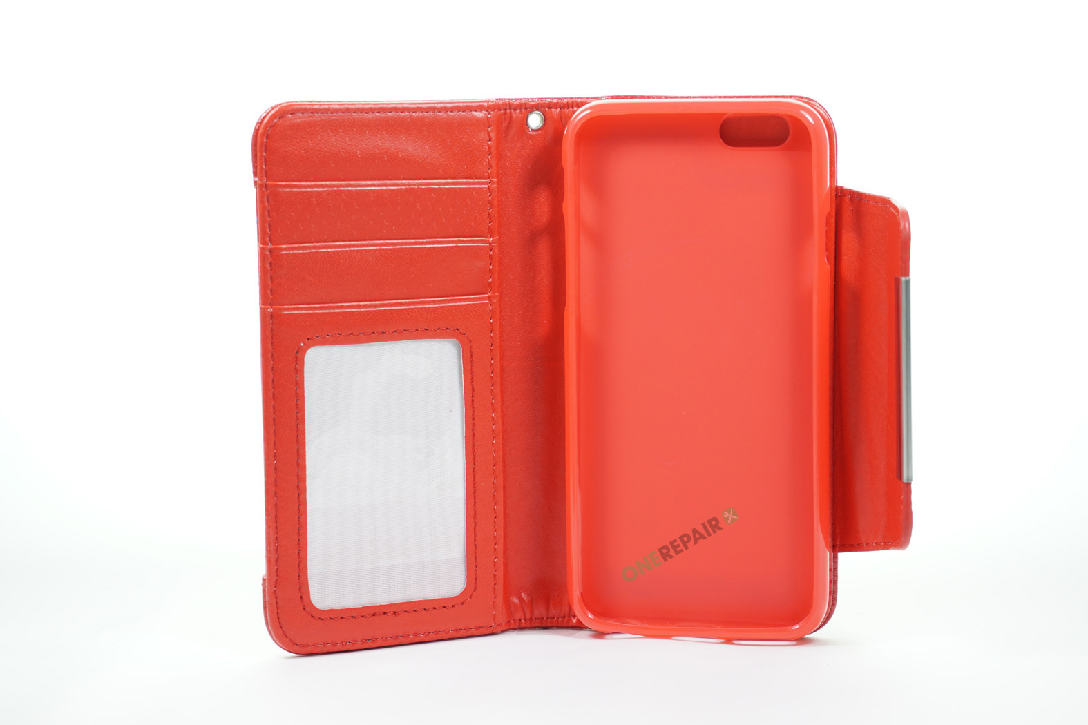 350534_iPhone_6_6S_Flipcover_Magnetcover_Cover_Roed_OneRepair_00002