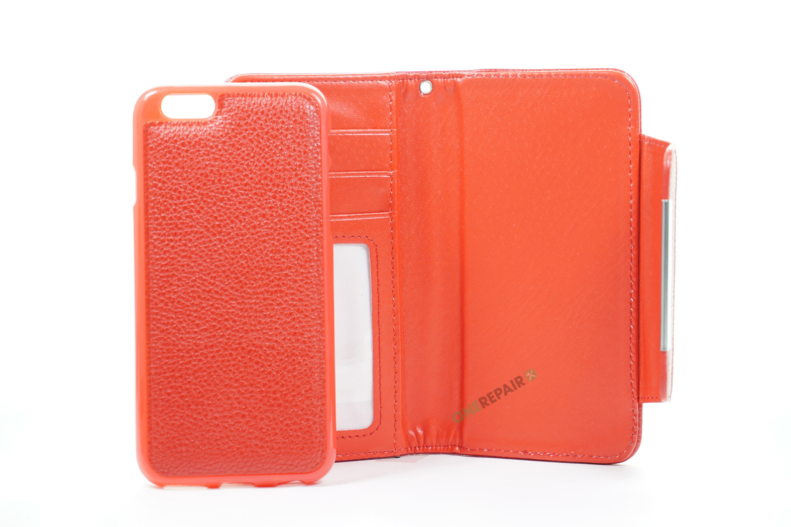 350534_iPhone_6_6S_Flipcover_Magnetcover_Cover_Roed_OneRepair_00003