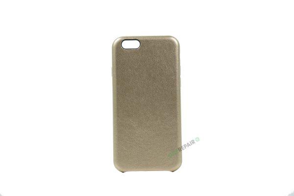 iPhone 6, 6S, A1549, A1586, A1589, A1633, A1688, A1700, A1691, Apple, Bagcover, Kunstlæder, Kunstlaeder, Cover, Billig, Guld