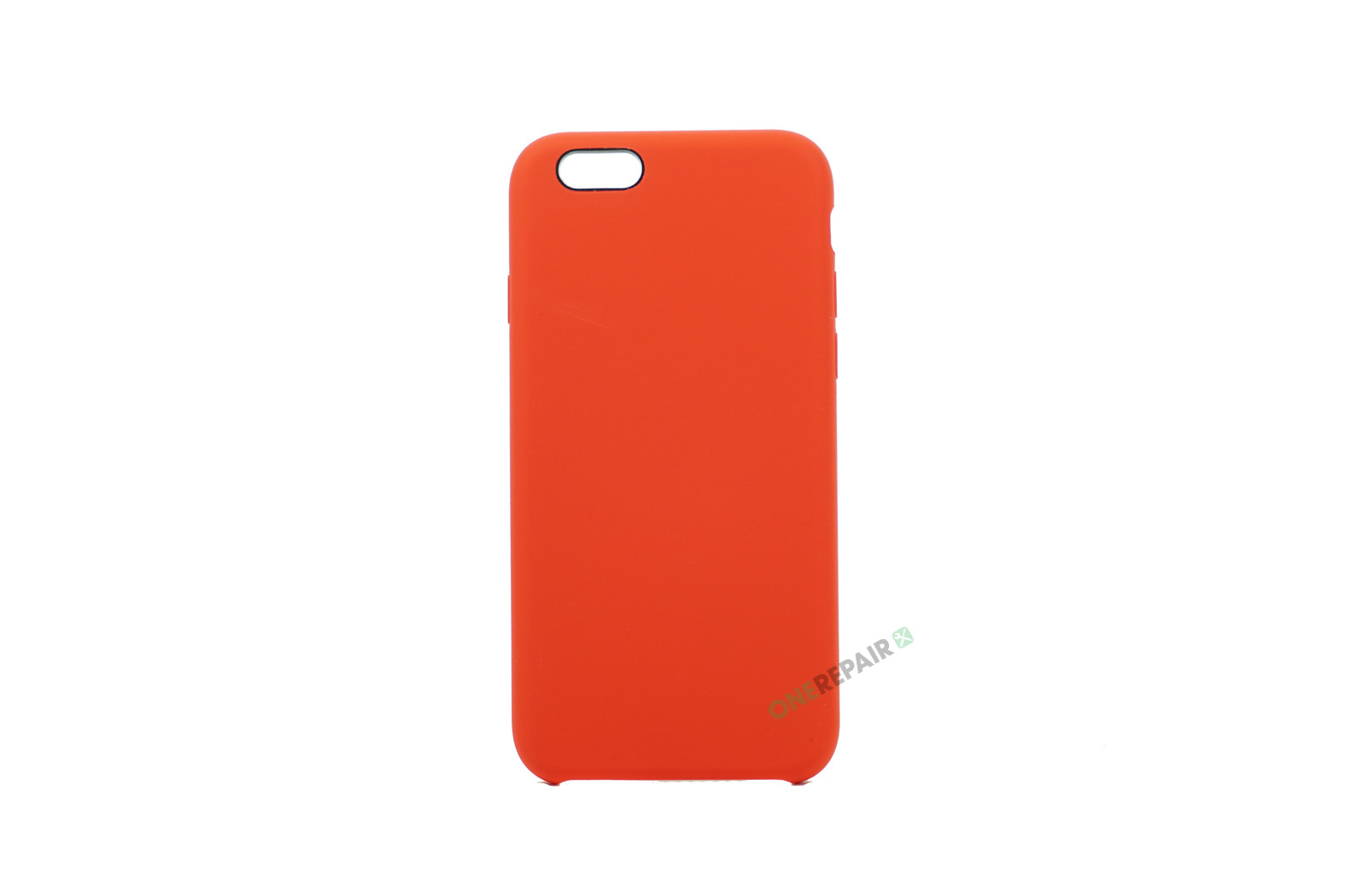 iPhone 6, 6S, A1549, A1586, A1589, A1633, A1688, A1700, A1691, Apple, Bagcover, SIlikone, Cover, Billig, Road, Rød,