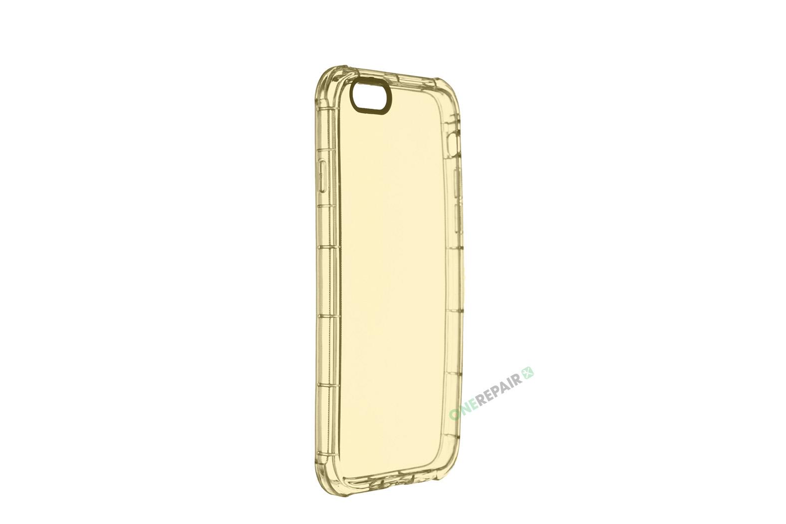 350564_iPhone_6_6s_Thick_Gummicover_Gennemsigtig_Guld_Gul_Gummi_Cover_Bagcover_Billig_OneRepair_WM_00002