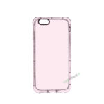 iPhone 6, 6S, A1549, A1586, A1589, A1633, A1688, A1700, A1691, Apple, Cover, Transparent, Gennemsigtig, Lyserød, Lyseroed, Pink