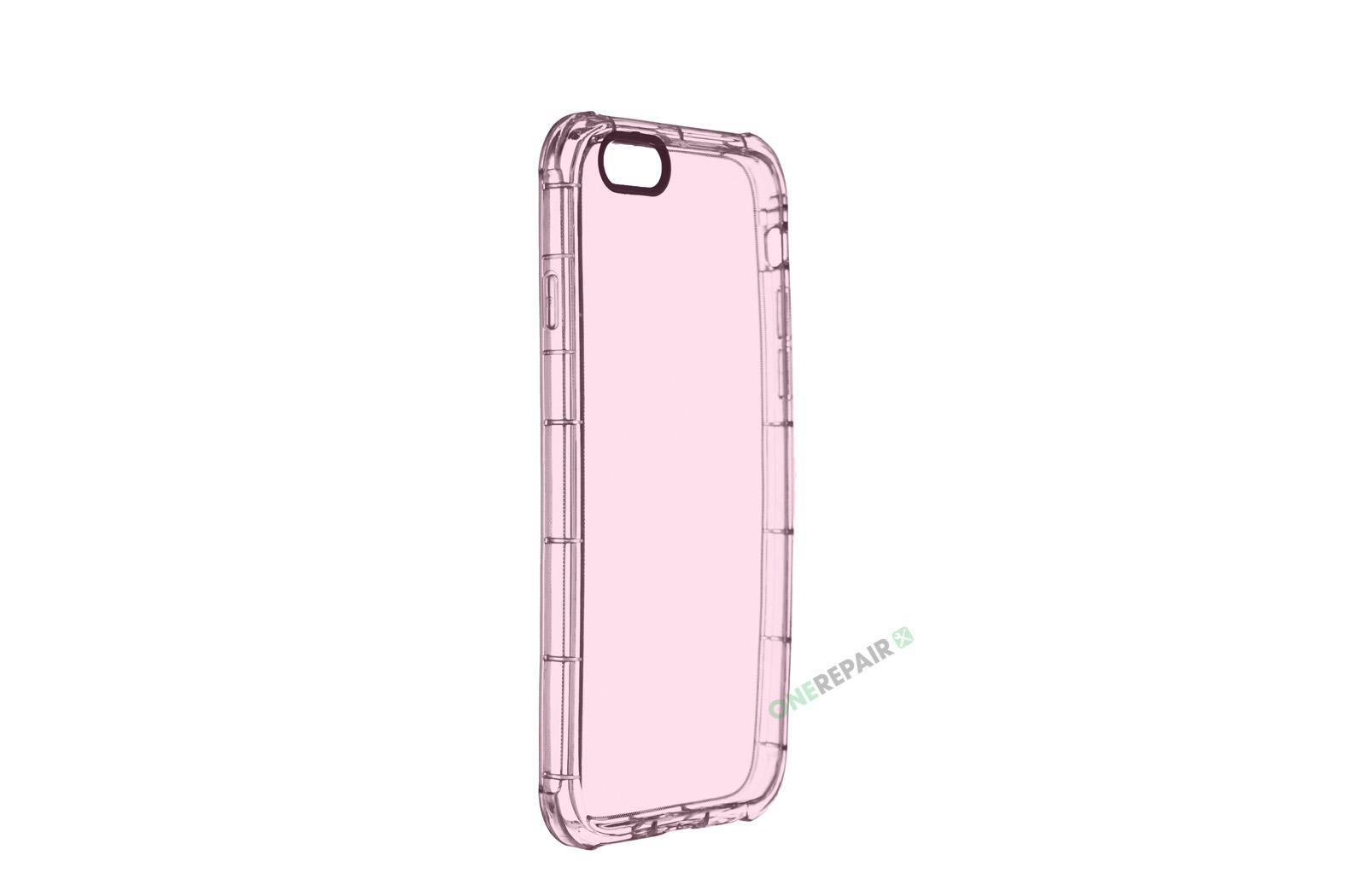 350566_iPhone_6_6s_Thick_Gummicover_Gennemsigtig_Pink_Lyseroed_Gummi_Cover_Bagcover_Billig_OneRepair_WM_00002