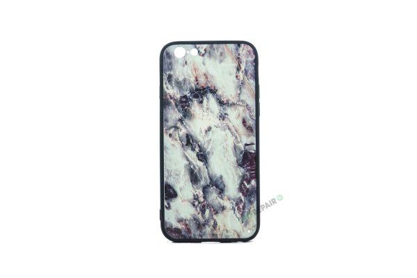 iPhone 6, 6S, A1549, A1586, A1589, A1633, A1688, A1700, A1691, Apple, Bagcover, Cover, Billig, Motiv, Mørk, Moerk, Marmor