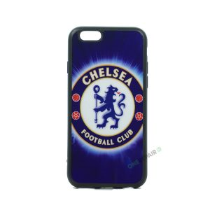iPhone 6, 6S, A1549, A1586, A1589, A1633, A1688, A1700, A1691, Apple, Bagcover, Cover, Billig, Motiv, Fodbold, Klub, Chelsea