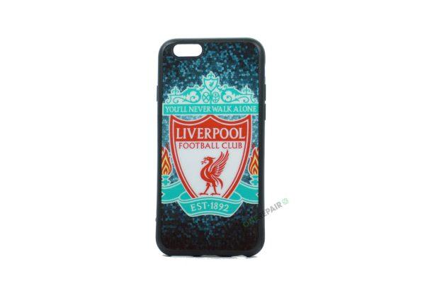 Liverpool Cover til iPhone 6 og 6s med mørk baggrund