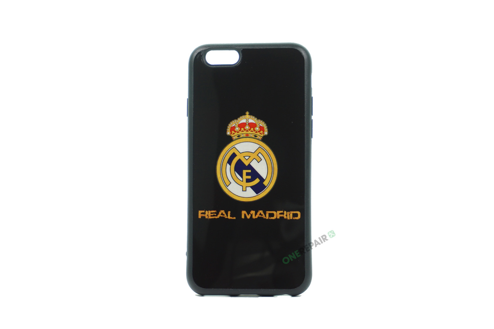 iPhone 6, 6S, A1549, A1586, A1589, A1633, A1688, A1700, A1691, Apple, Bagcover, Cover, Billig, Motiv, Fodbold, Klub, Real Madrid, FC,
