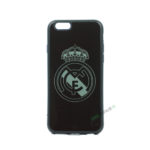 iPhone 6, 6S, A1549, A1586, A1589, A1633, A1688, A1700, A1691, Apple, Bagcover, Cover, Billig, Motiv, Fodbold, Klub, Real Madrid, FC, Sort