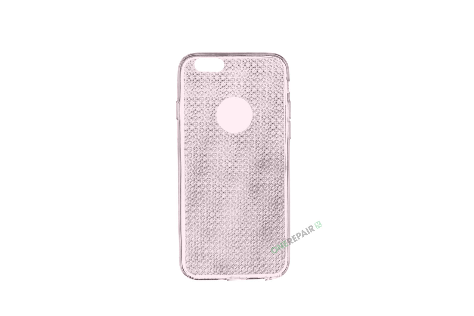 iPhone 6, 6S, A1549, A1586, A1589, A1633, A1688, A1700, A1691, Apple, Cover, Transparent, Gennemsigtig, Pink Lyseroed, Lyserød
