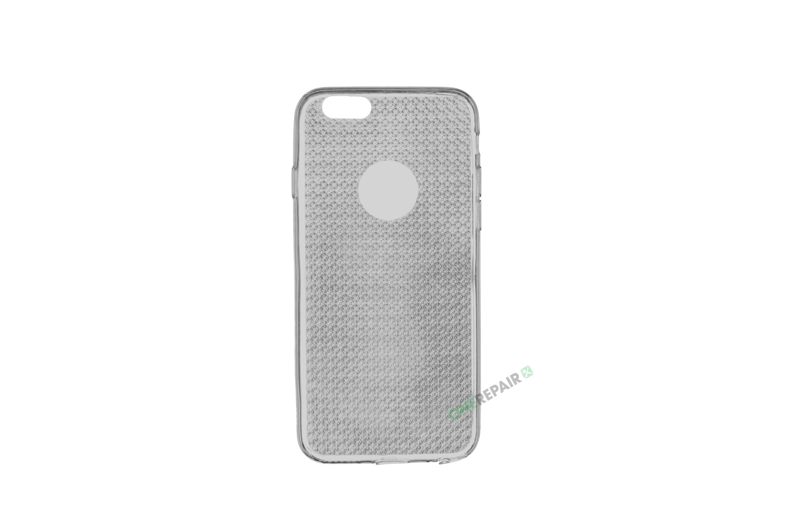 iPhone 6, 6S, A1549, A1586, A1589, A1633, A1688, A1700, A1691, Apple, Cover, Transparent, Gennemsigtig, Graa,