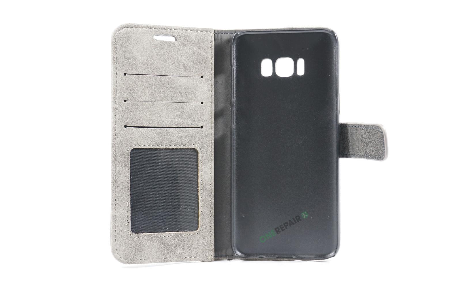 350698_Samsung_S8+_Flipcover_Rustik_Cover_Graa_OneRepair_00002