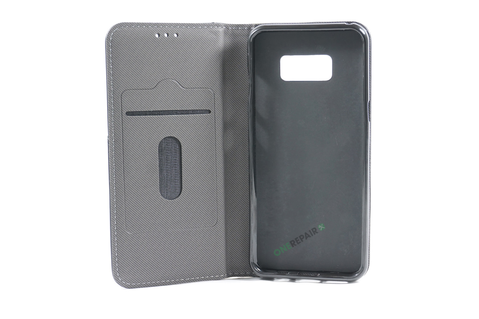 350704_Samsung_S8+_Retro_Flipcover_Rustik_Cover_Sort_OneRepair_00002