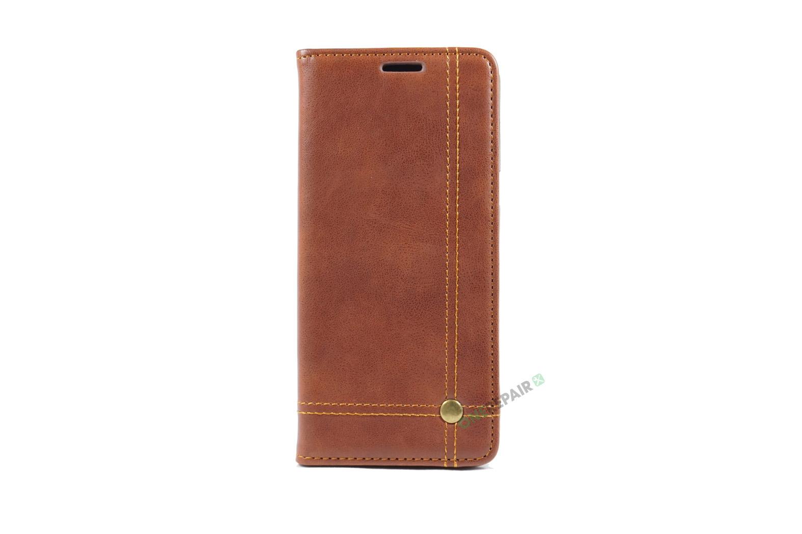 350707_Samsung_S8+_Flipcover_Gummikant_Cover_Brun_OneRepair_00001