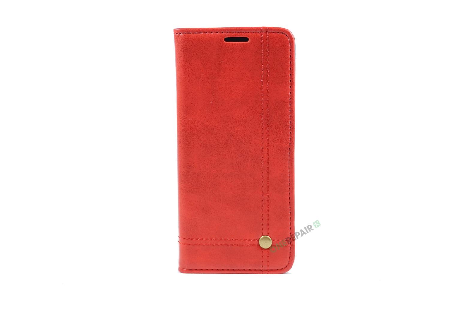 350709_Samsung_S8+_Flipcover_Gummikant_Cover_Roed_OneRepair_00001