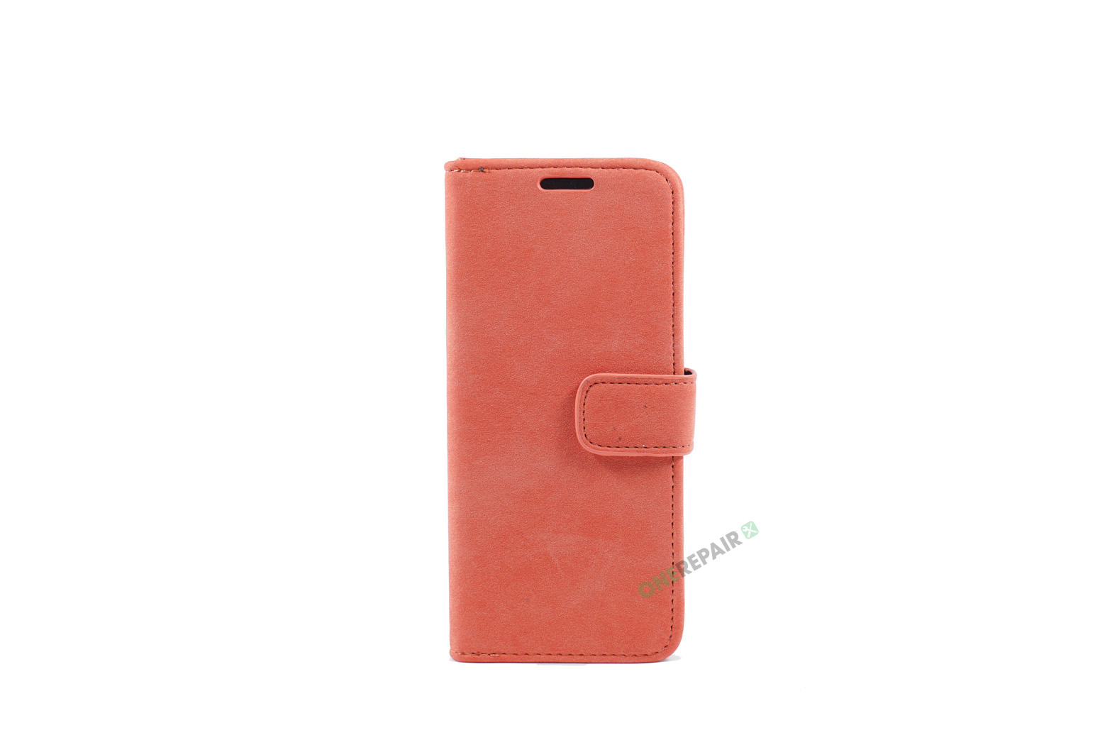 350725_Samsung_S8_Flipcover_Rustik_Cover_Roed_Pastel_OneRepair_WM_00001