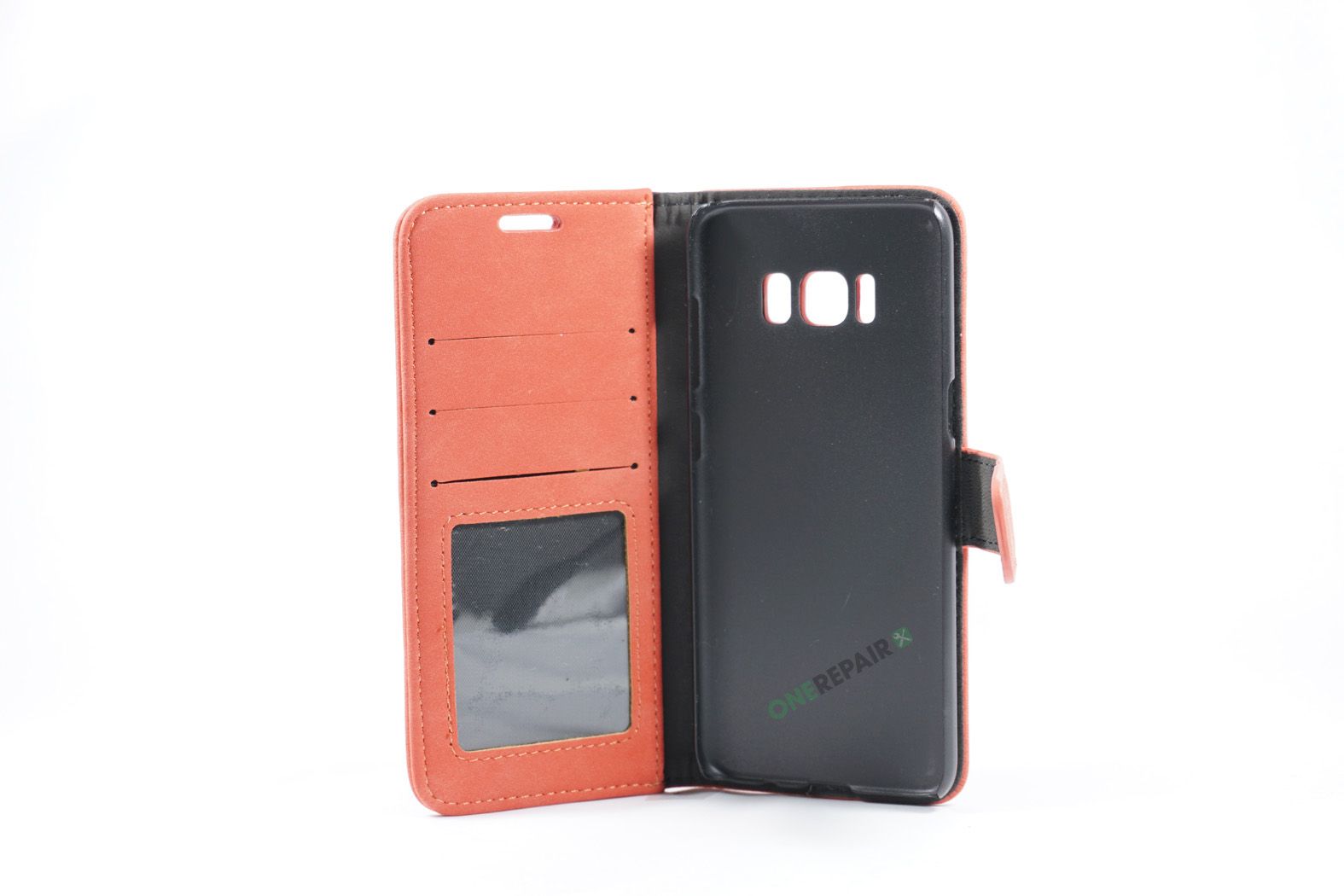350725_Samsung_S8_Flipcover_Rustik_Cover_Roed_Pastel_OneRepair_WM_00002