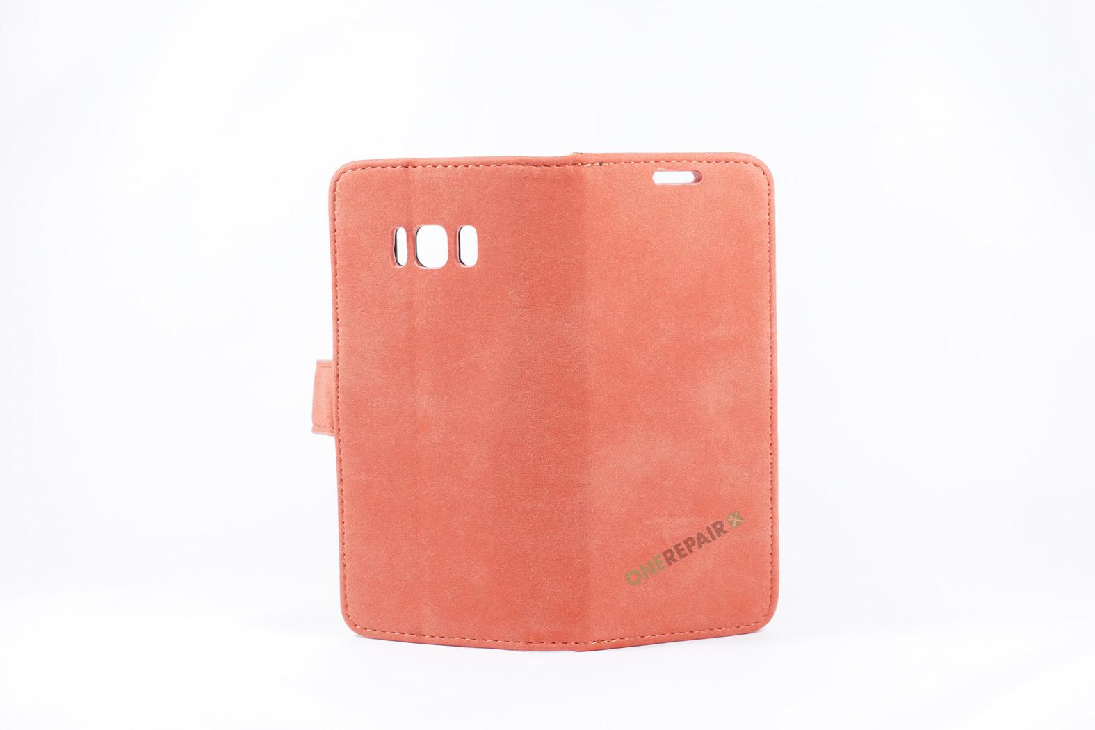 350725_Samsung_S8_Flipcover_Rustik_Cover_Roed_Pastel_OneRepair_WM_00003
