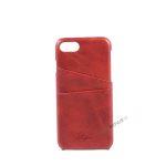 iPhone 7, iPhone 8, Cover, Plads til kort, Rød