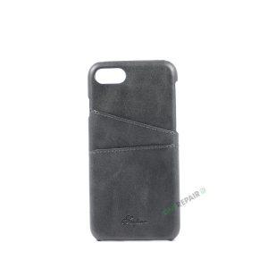 iPhone 7, iPhone 8, Cover, Plads til kort, Grå