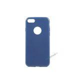iPhone 7, iPhone 8, Gummi cover, Blå, Simpelt, Enkelt, Apple
