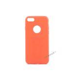 iPhone 7, iPhone 8, Gummi cover, Rød, Simpelt, Enkelt, Apple