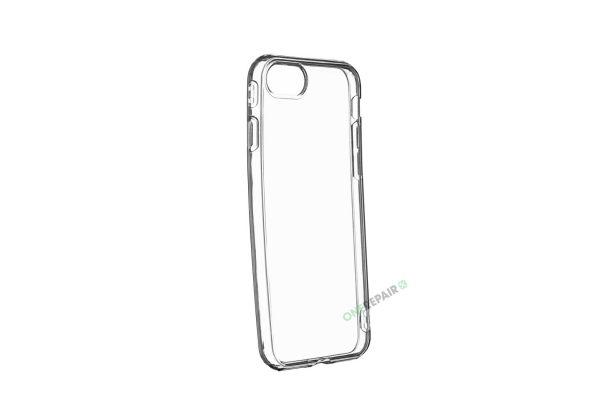 iPhone 7, iPhone 8, Cover, Gennemsigtigt, gennemsigtig, Mobil, Billig, Godt