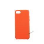iPhone 7, iPhone 8, Silikone cover, Rød, Simpelt, Enkelt, Apple