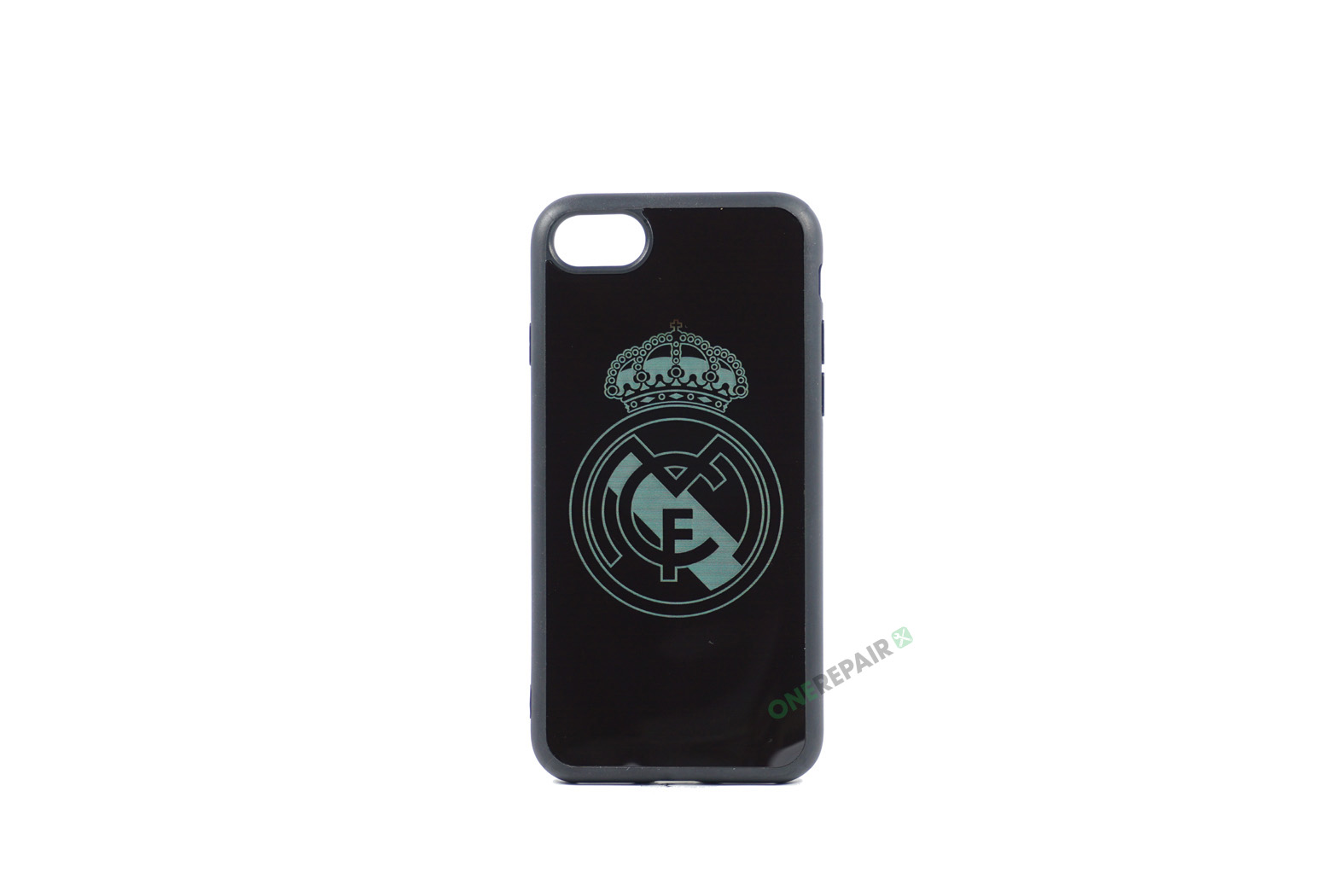 sort real madrid cover, fodbold, iPhone 7 8