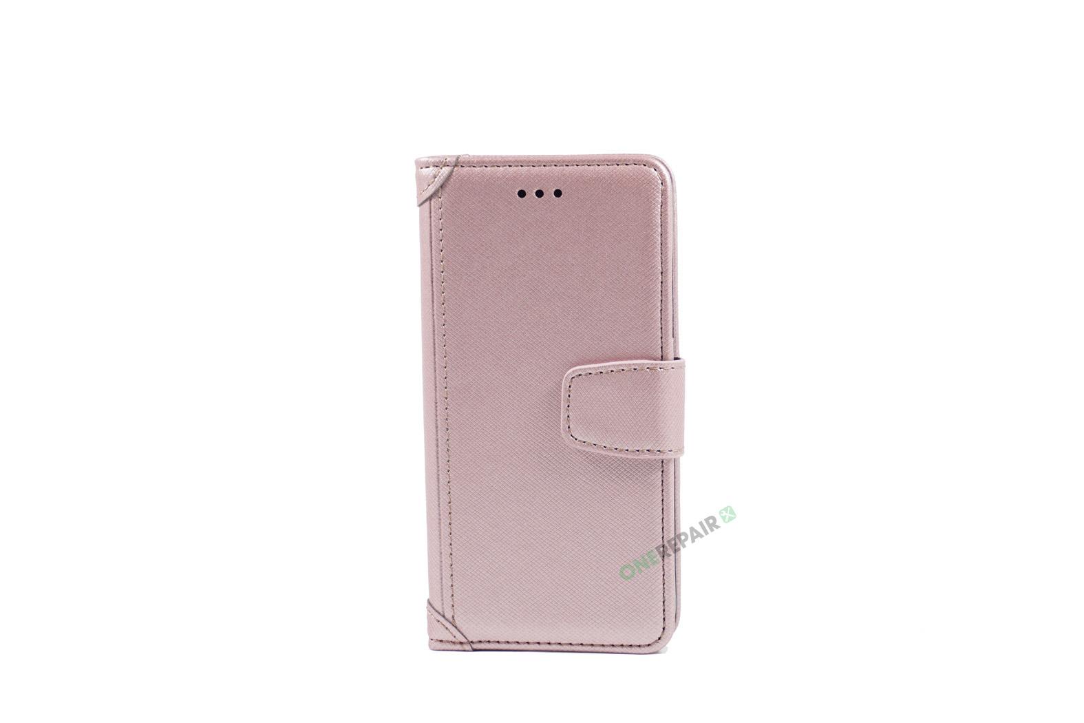 350788_iPhone_7_8_Luxury_Flipcover_Cover_Lyseroed_Pink_OneRepair_WM_00001