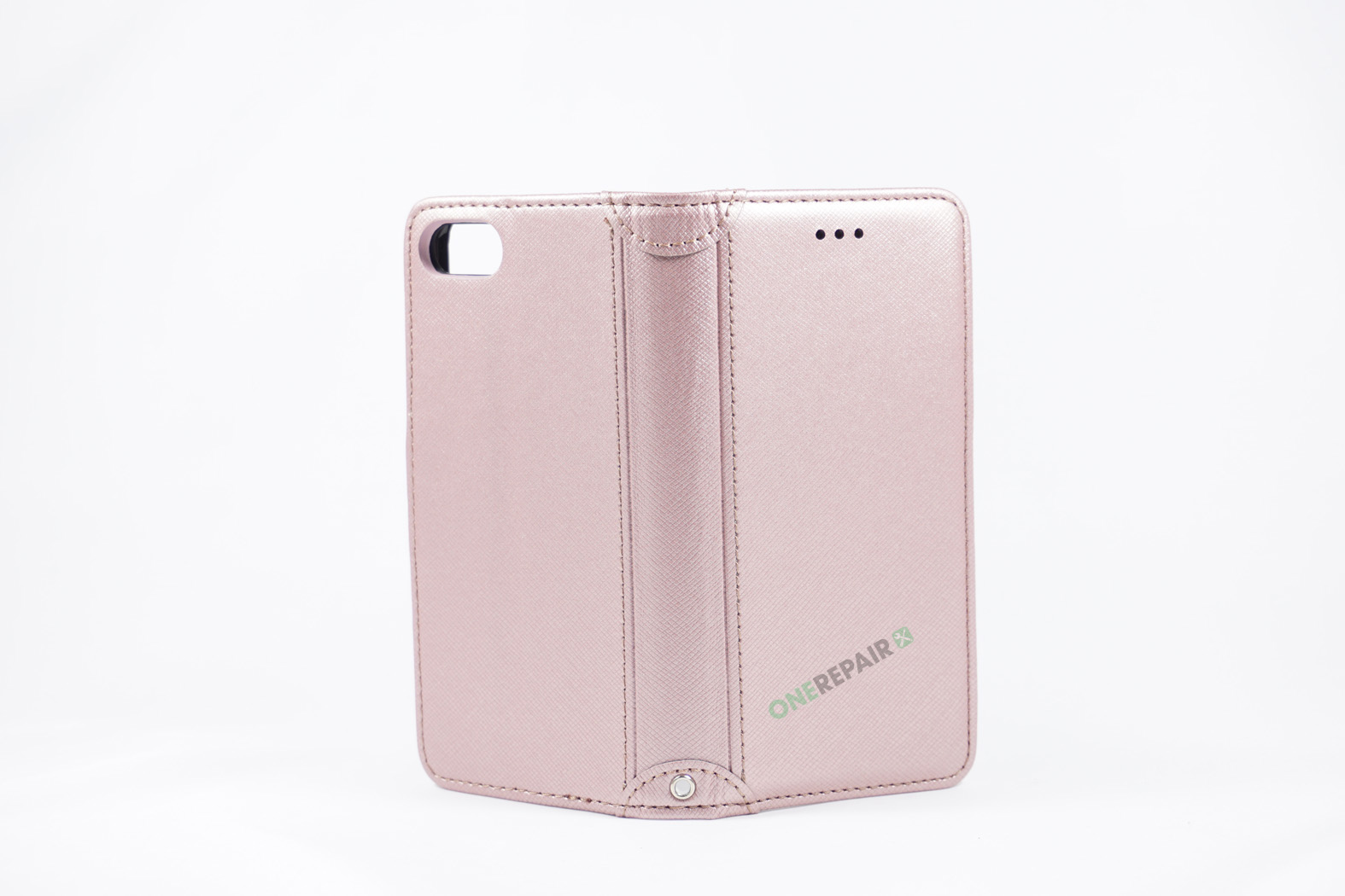 350788_iPhone_7_8_Luxury_Flipcover_Cover_Lyseroed_Pink_OneRepair_WM_00003