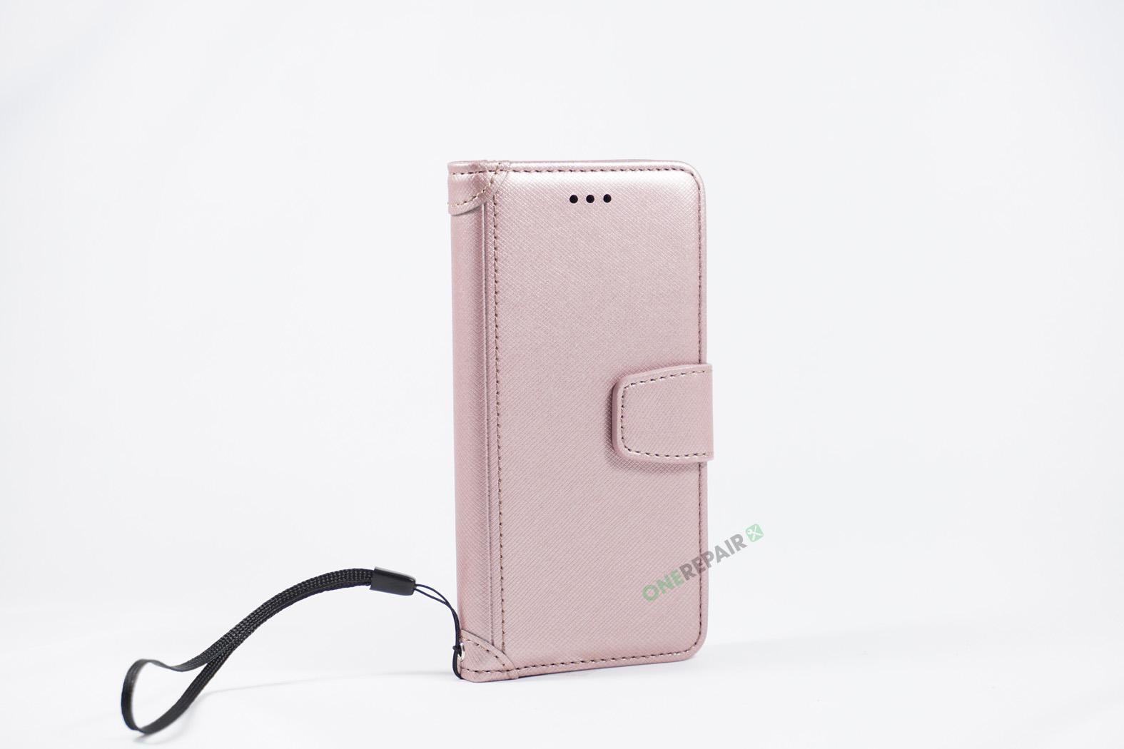 350788_iPhone_7_8_Luxury_Flipcover_Cover_Lyseroed_Pink_OneRepair_WM_00004