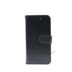 iPhone 7, iPhone 8, Flipcover, Plads til kort, Sort