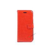 iPhone 7, iPhone 8, Flipcover, Plads til kort, Rød