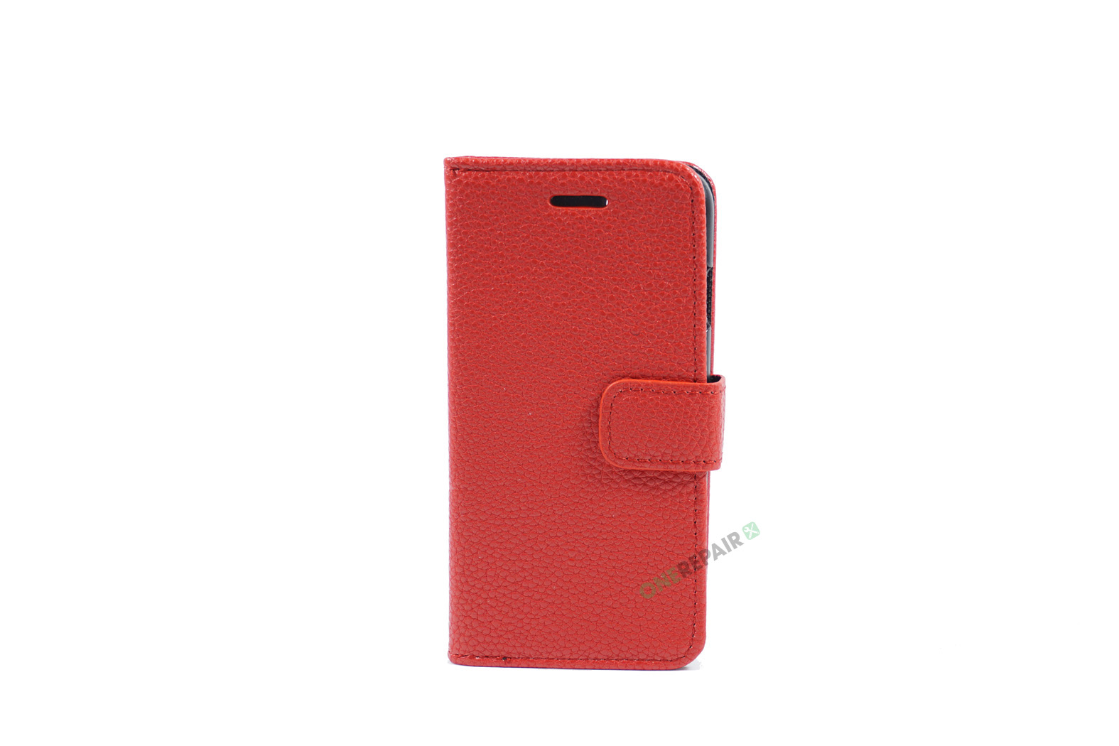 350822_iPhone_7_8_Flipcover_Bubble_Cover_Roed_OneRepair_WM_00001