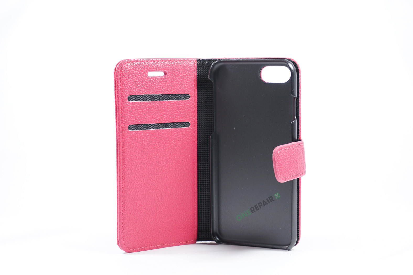 350829_iPhone_7_8_Flipcover_Bubble_Cover_Lyseroed_Pink_OneRepair_WM_00002