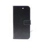 iPhone 7 Plus, iPhone 8 Plus, Flipcover, Cover, Plads til kort, Etui, Sort