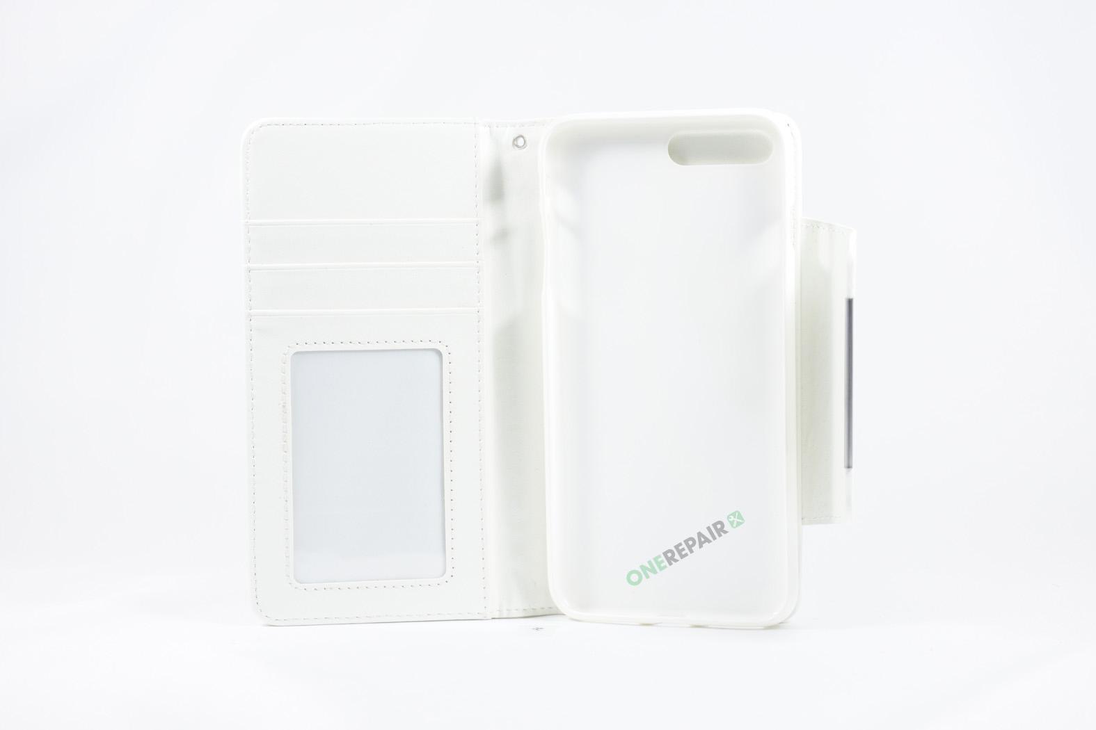 350849_iPhone_7+_8+_Plus_Flipcover_Magnet_Cover_Hvid_OneRepair_WM_00002