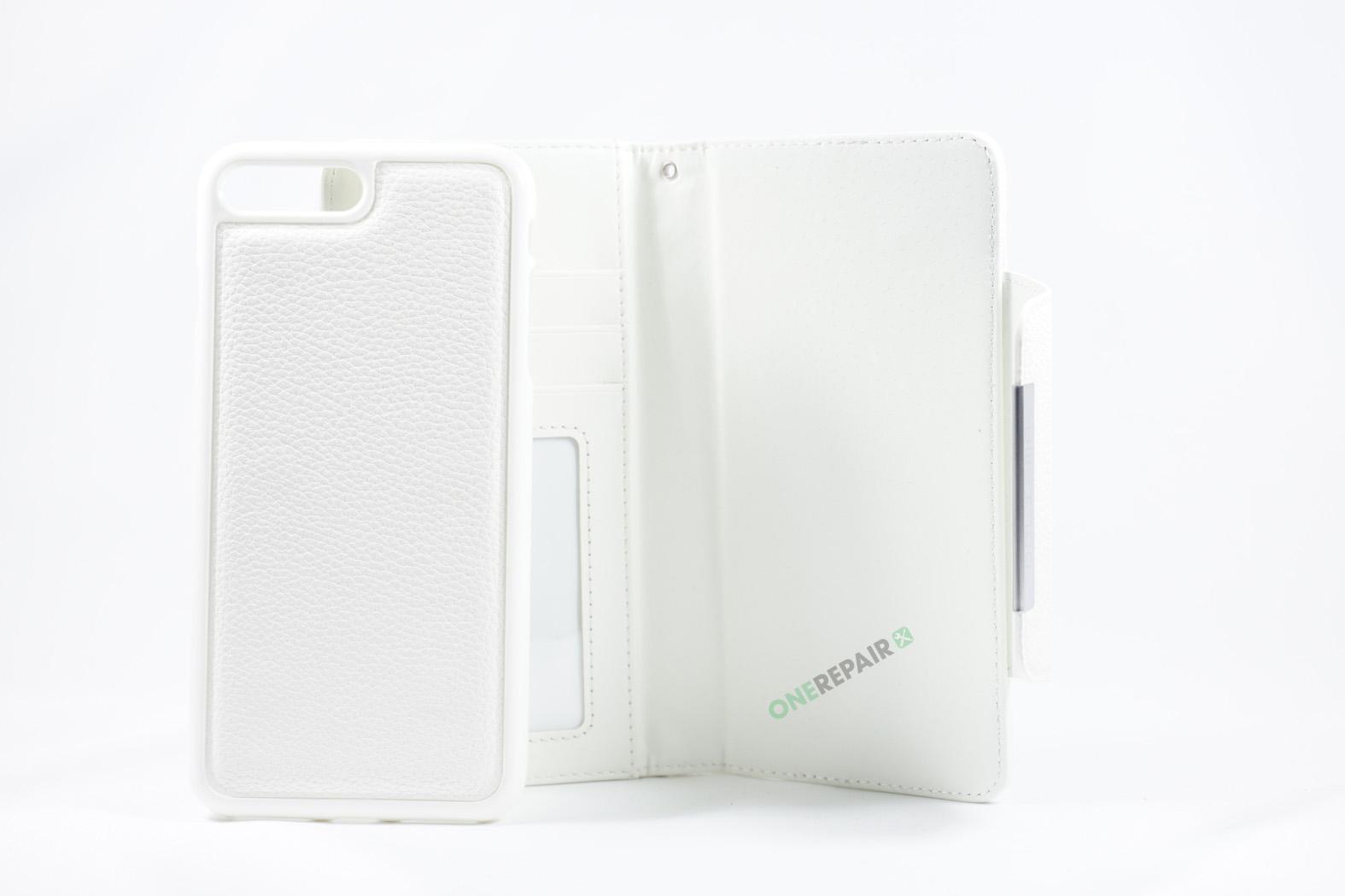 350849_iPhone_7+_8+_Plus_Flipcover_Magnet_Cover_Hvid_OneRepair_WM_00003